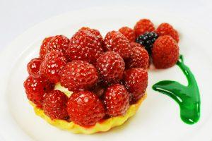 La Bonne Bouchee Raspberry Fruit Tart